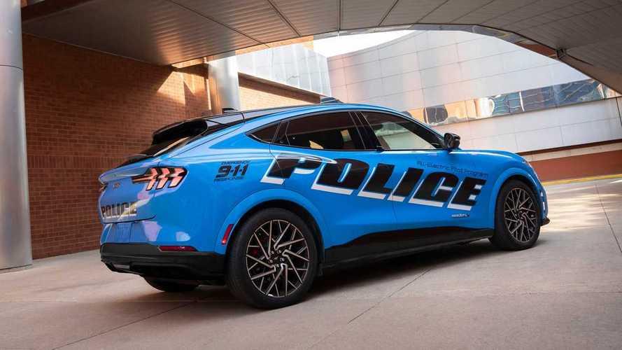 Ford Mustang Mach-E (Polícia)