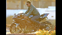 Tom Cruise sul set di Top Gun: Maverick
