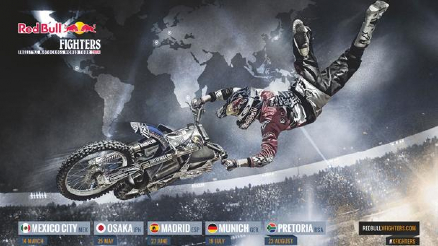 Red Bull X-Fighters World Tour 2014: il calendario
