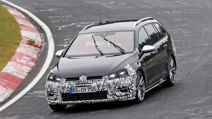 Makyajlı VW Golf R Variant, 10 Kasım lansmanı öncesinde son kez görüntülendi