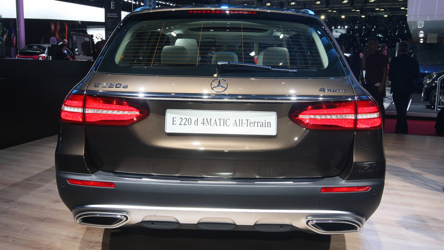 2017 Mercedes-Benz E200 All-Terrain Paris Motor Show