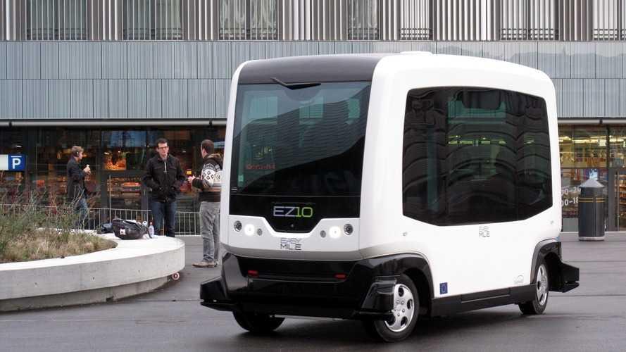 Vidéo - La RATP teste son bus autonome en plein Paris