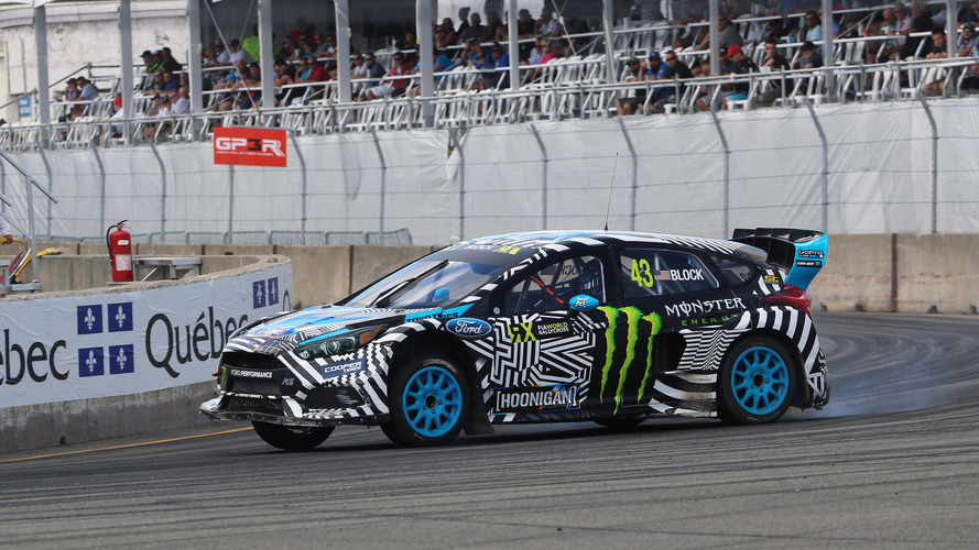 Ford Focus RS RX video shows rallycross car's development