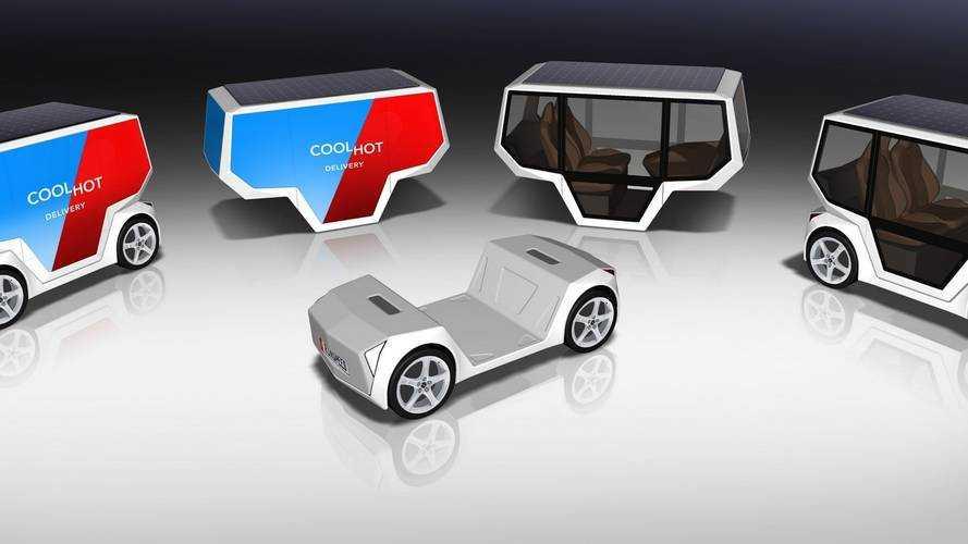 Rinspeed microSNAP, il furgoncino autonomo per la città