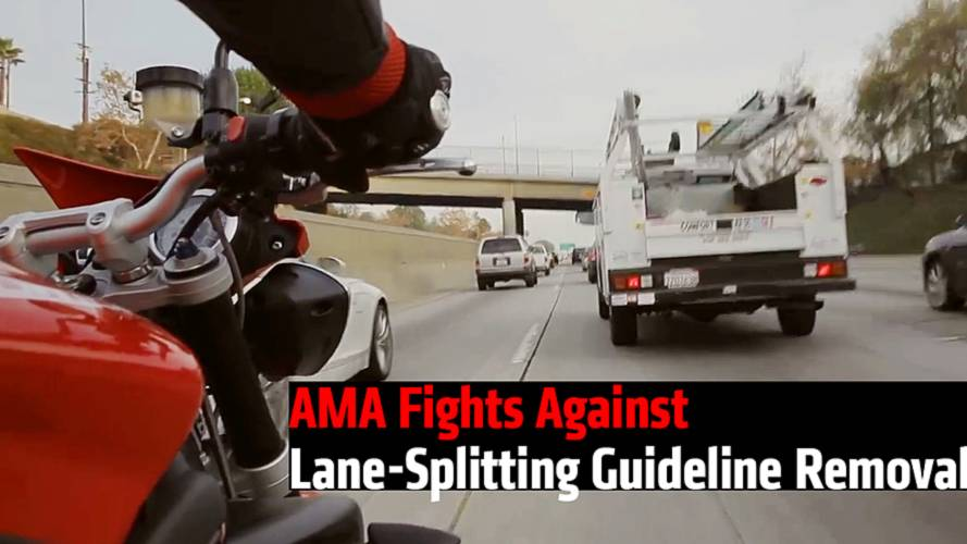 AMA Fights Against Lane-Splitting Guideline Removal