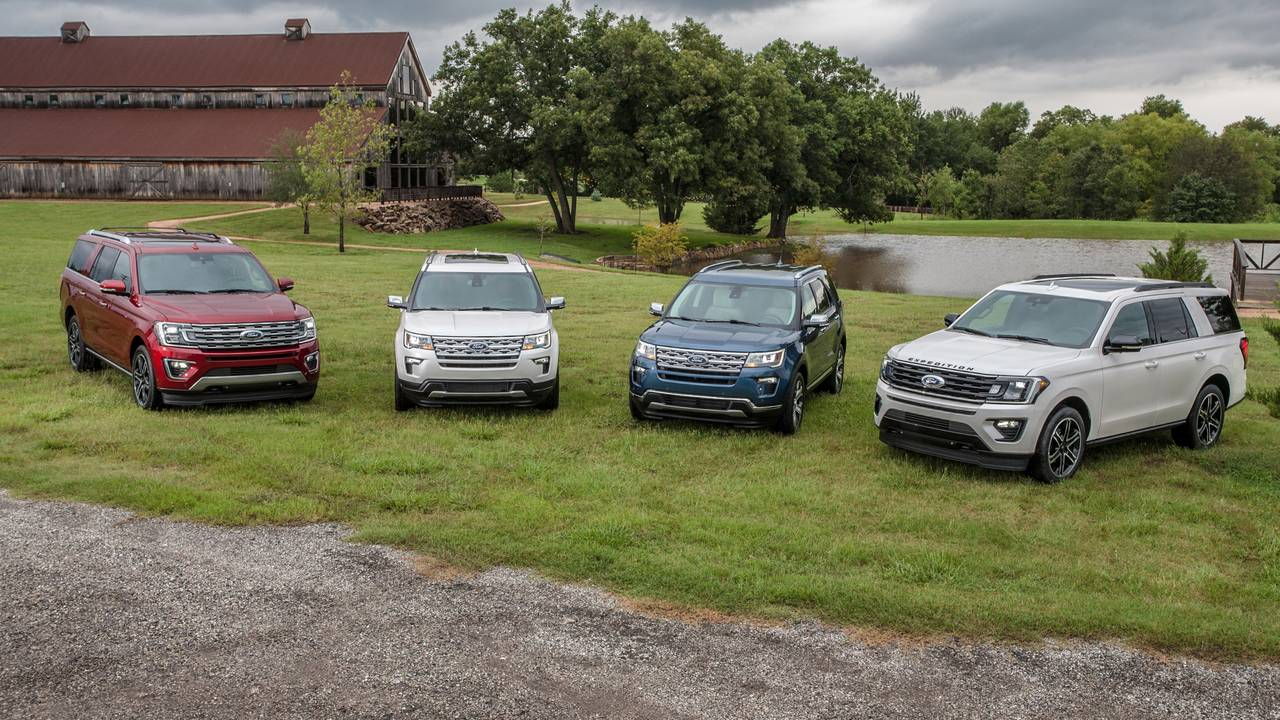 2019 Ford Explorer Expedition Special Editions