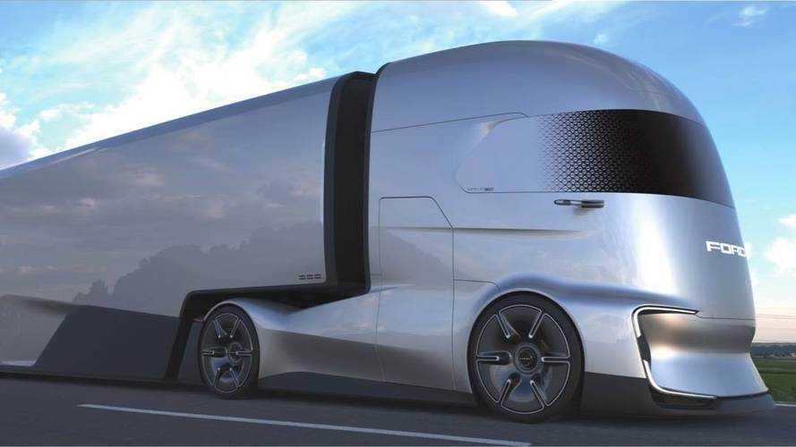 A semmiből tűnt fel a Ford F-Vision Future Truck tanulmány