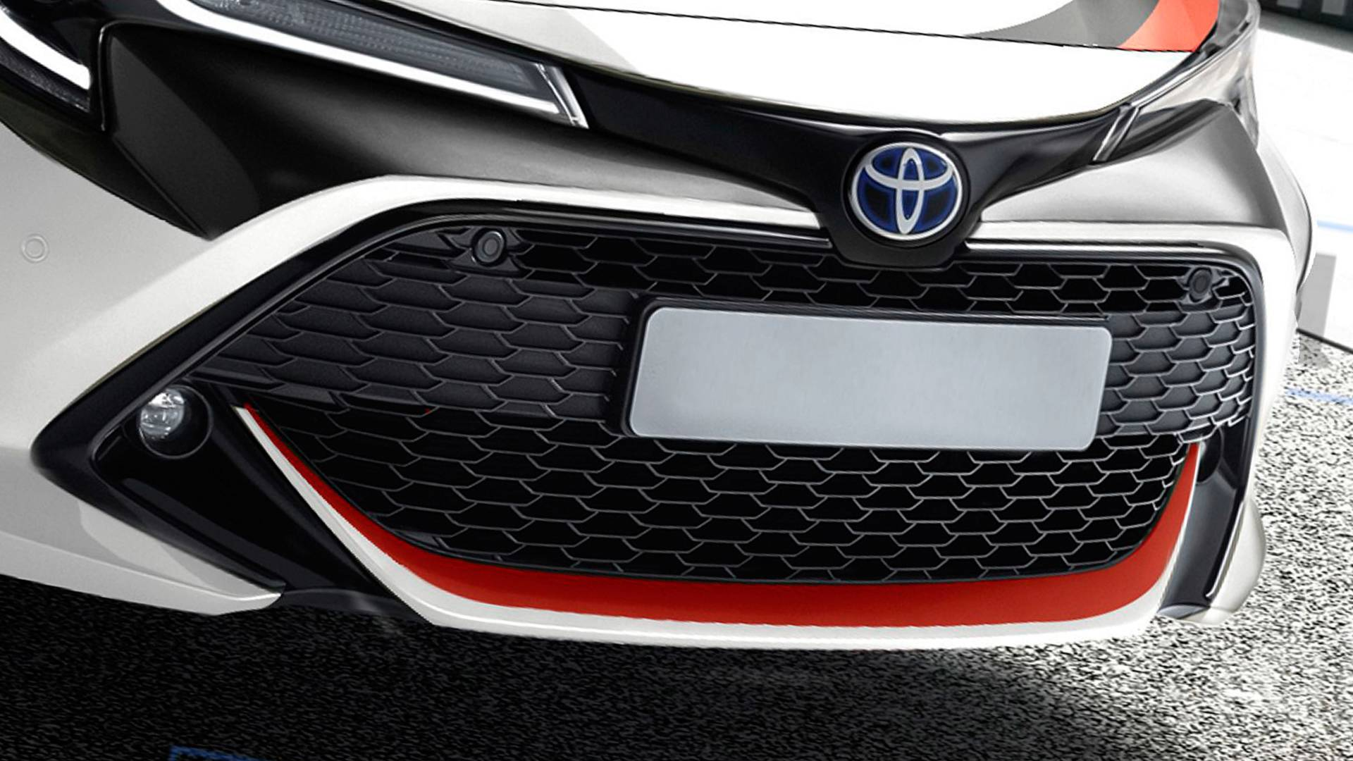Toyota Corolla GR - Projeção