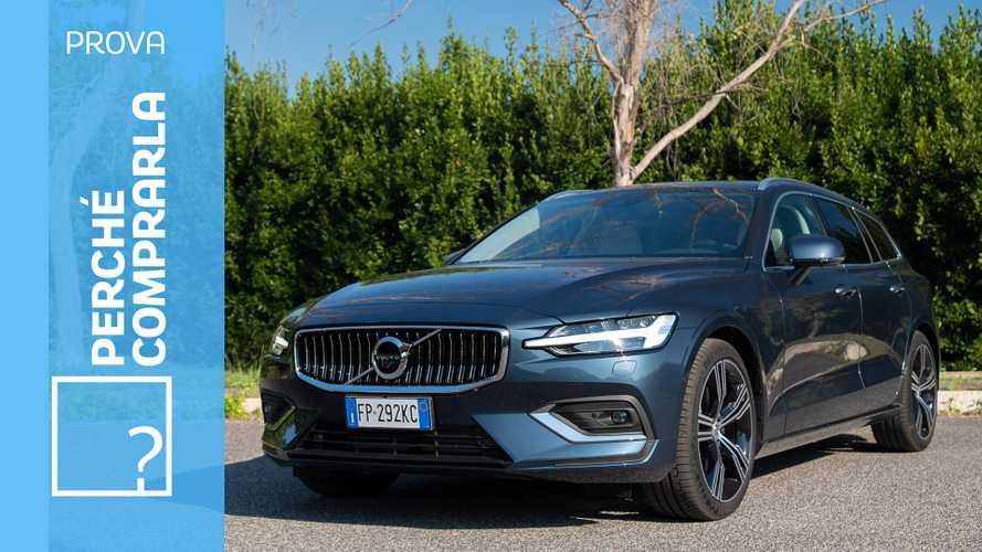 Volvo V60, perché comprarla... e perché no