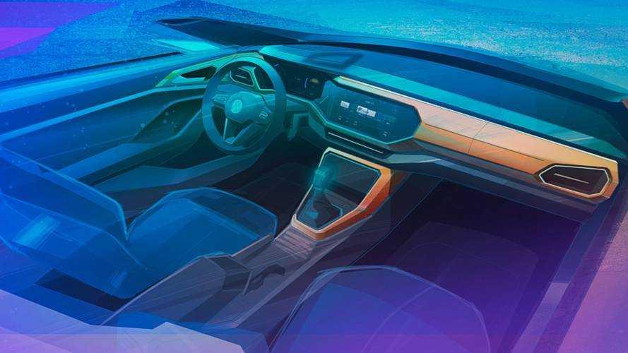 Novo SUV da Volkswagen, T-Cross mostra interior em teaser