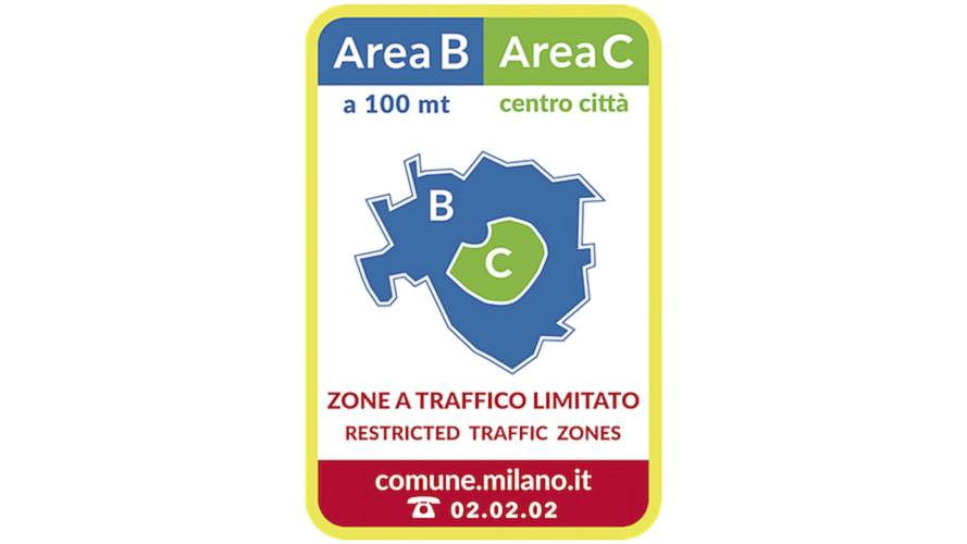 Area B di Milano: divieti e deroghe