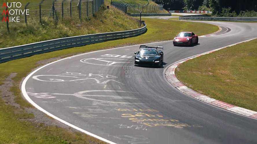 McLaren Senna At Nürburgring