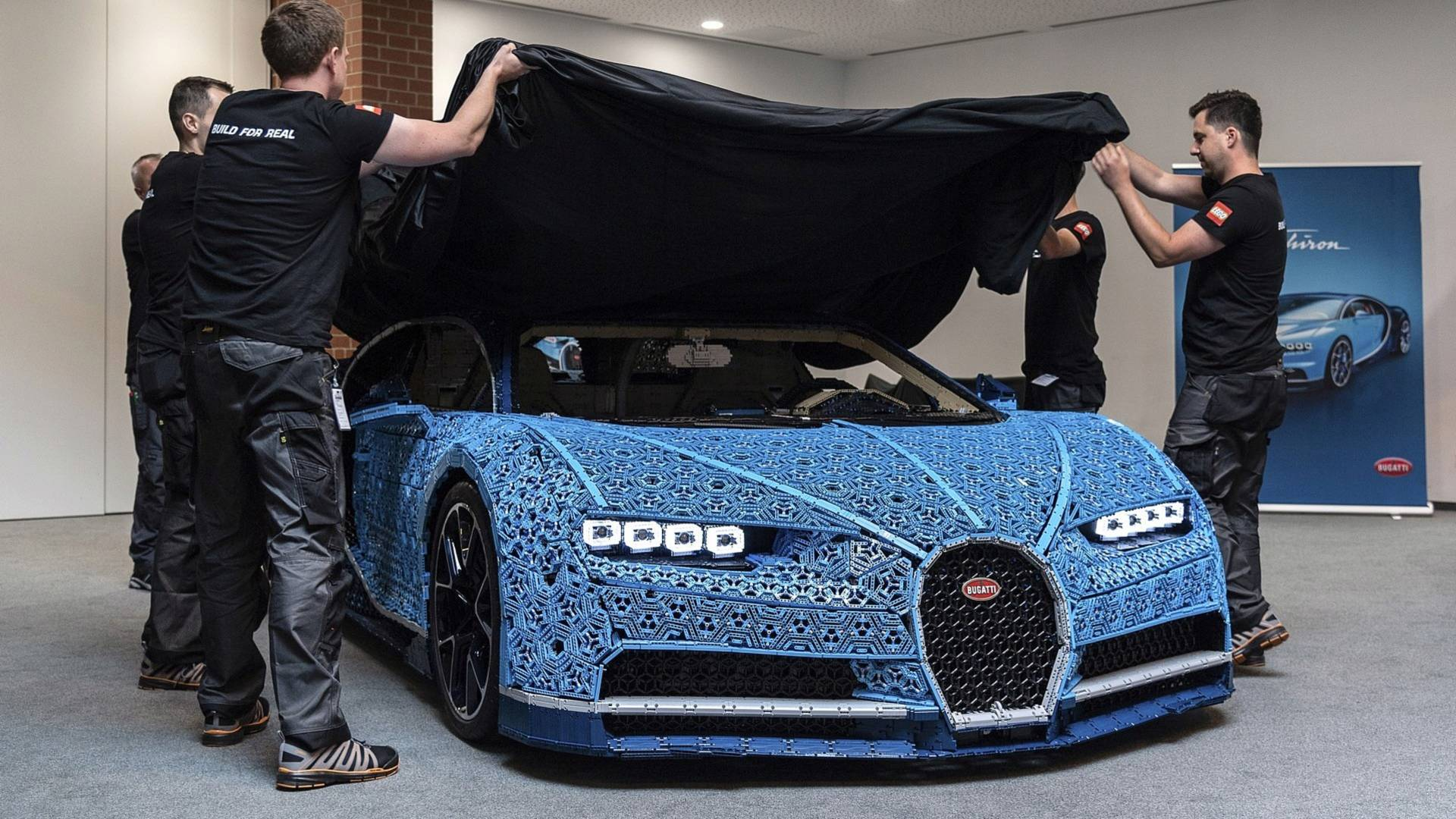 This Insane Life-Size Lego Technic Bugatti Chiron Is Drivable on homemade science cars, homemade toy cars, homemade diesel cars, homemade slot cars, homemade hot wheels cars, homemade barbie cars, homemade play-doh, cools kinect's cars,
