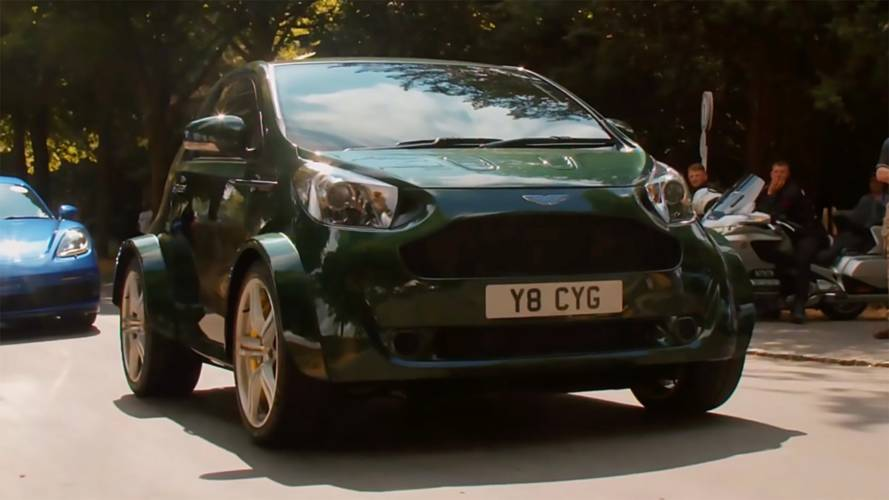 Here's What It's Like To Drive The Aston Martin Cygnet V8