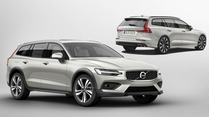 Volvo V60 Cross Country: See the changes side-by-side