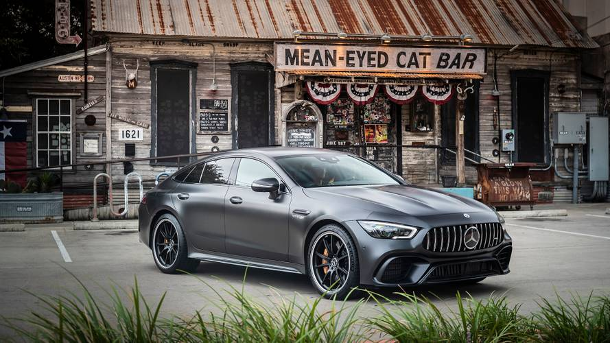 Mercedes-AMG's V8 GT 63 Four-Door Coupe costs more than £120,000