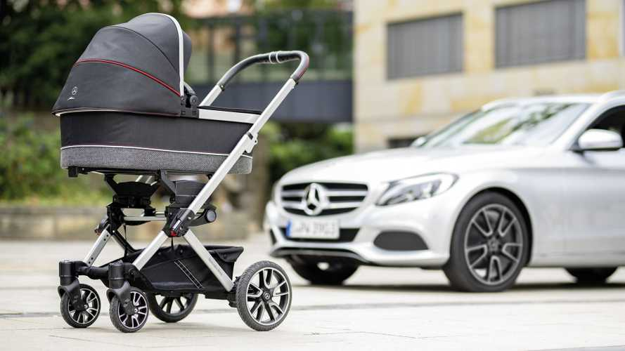 The Mercedes Of Baby Strollers Rides On C Class Amg Wheels