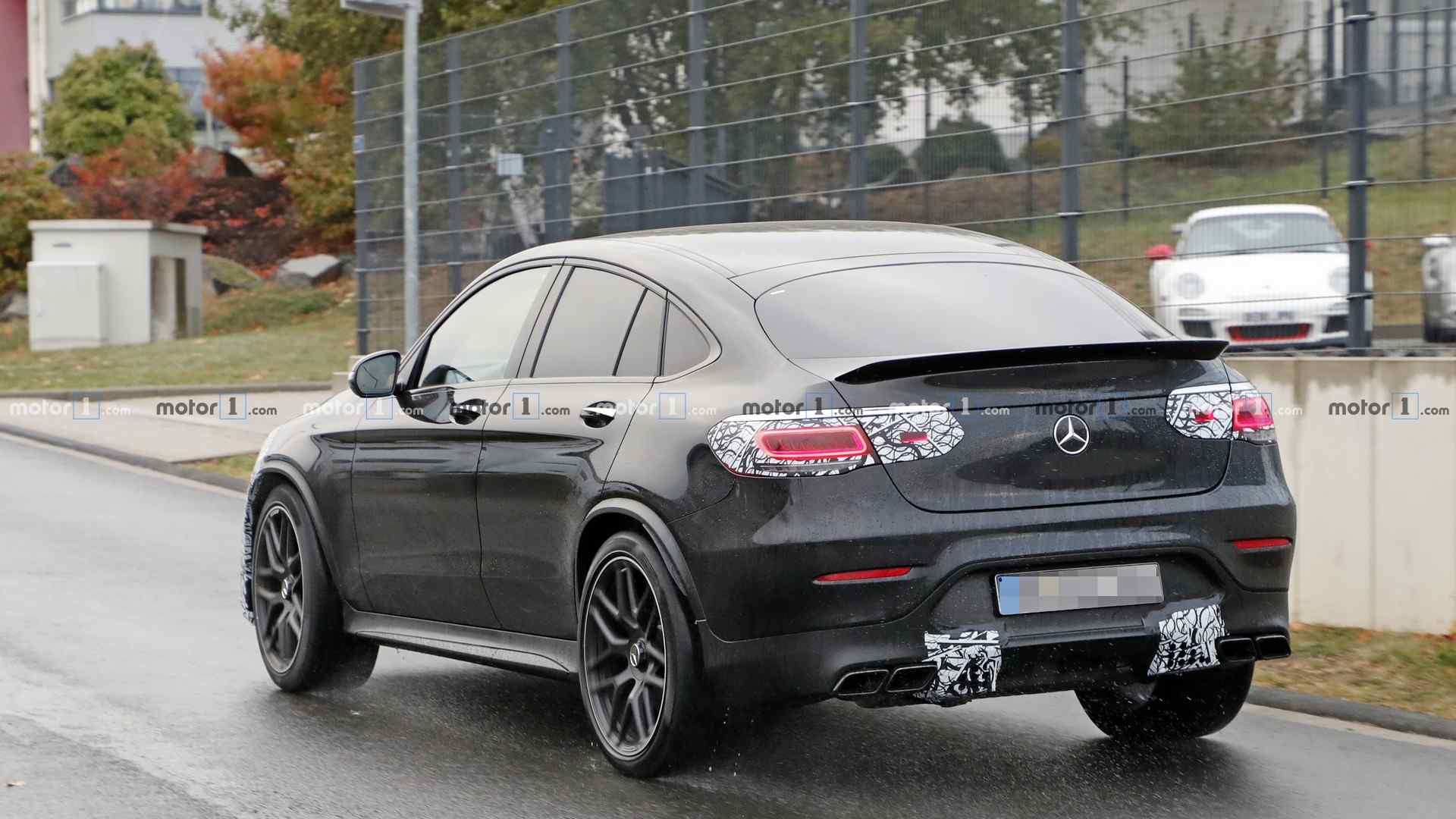 Mercedes Amg Glc 63 Coupe Spotted Preparing For An Early
