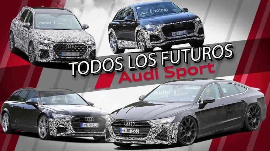 Los futuros Audi Sport que llegarán en 2019 y 2020