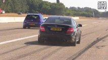 Volkswagen Golf R Drag Racing