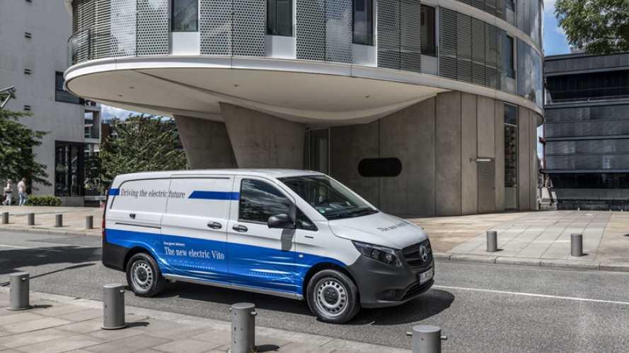 Con Transpotec il Mercedes-Benz eVito arriva anche in Italia