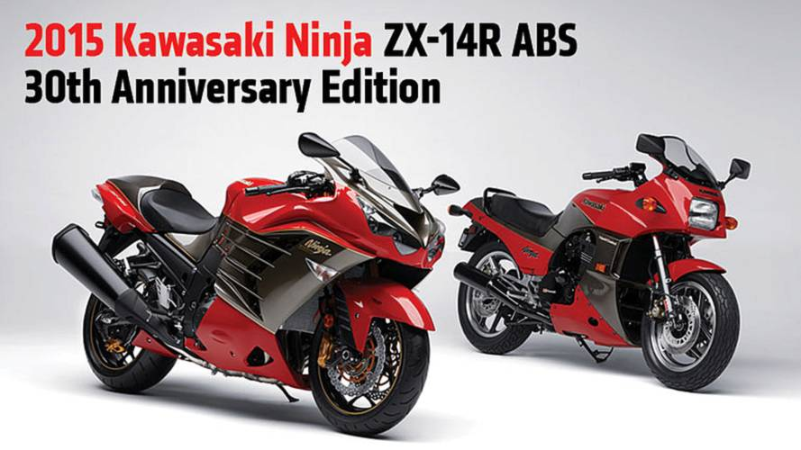 2015 Kawasaki Ninja ZX-14R ABS 30th Anniversary Limited Edition