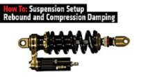 how to suspension setup rebound and compression damping