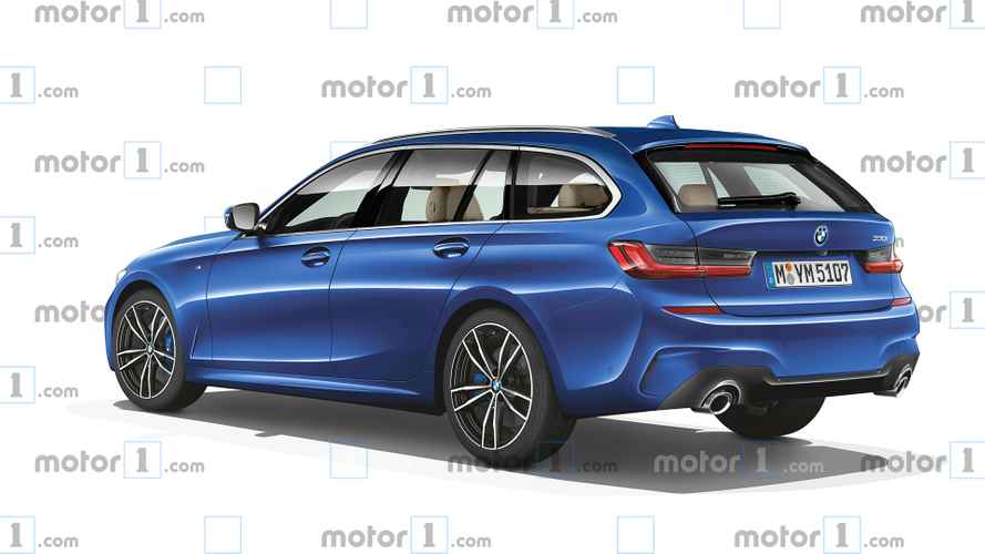2019 BMW 3 Serisi Touring render