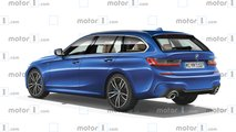 2019 BMW 3 Series Touring rendering
