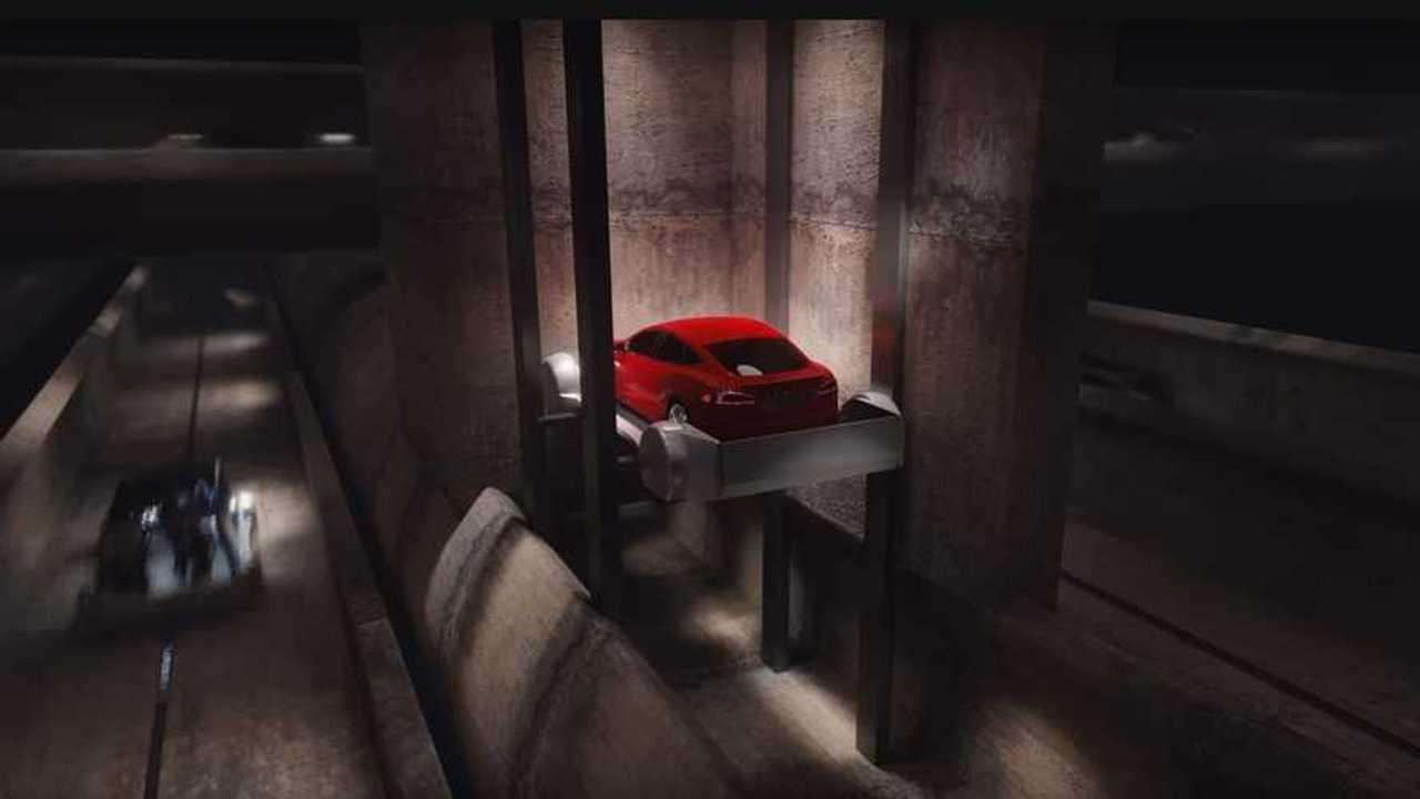 The Boring Company'nin Hyperloop Projesi Animasyonu