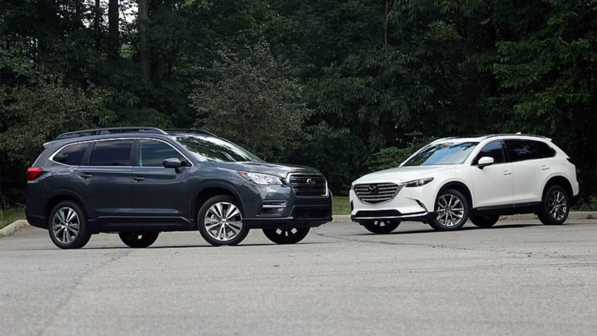 Subaru Ascent Vs  Mazda CX-9: Substance, Meet Style