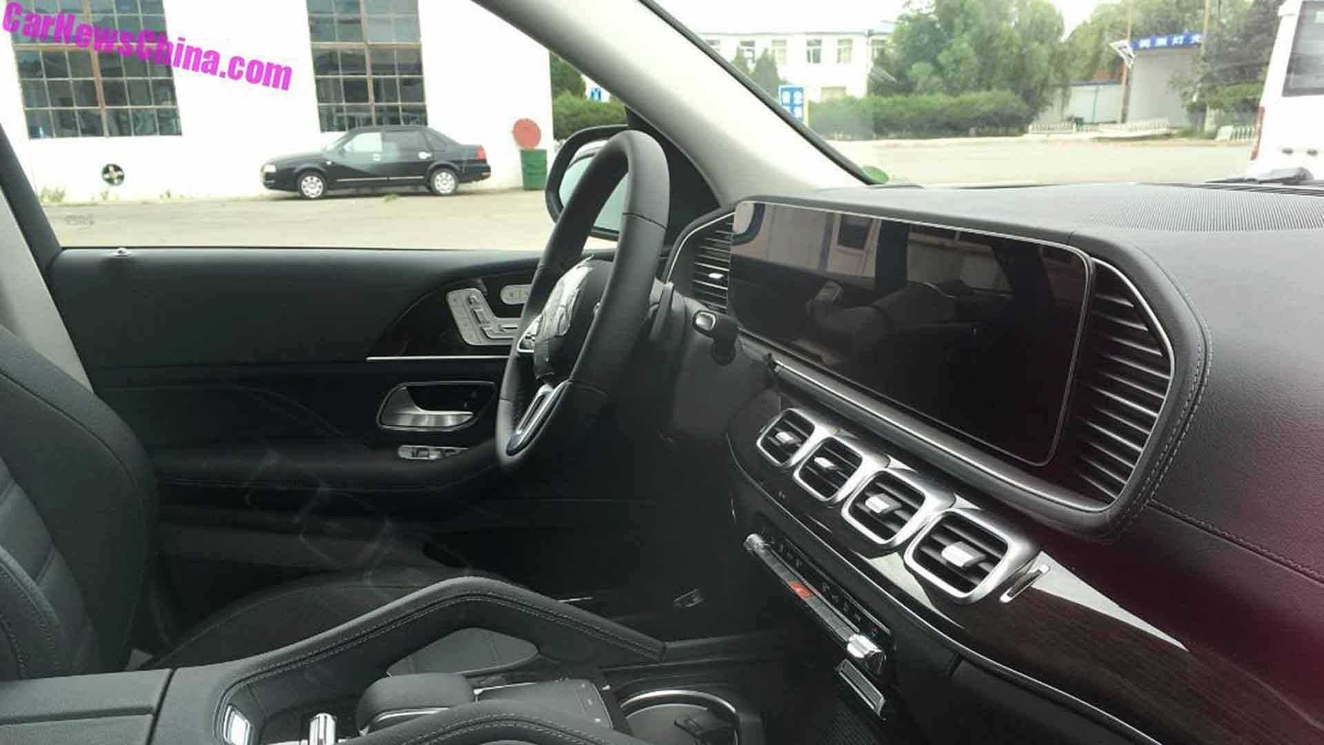 2019 Mercedes GLE Interior Revealed In Spy Shots