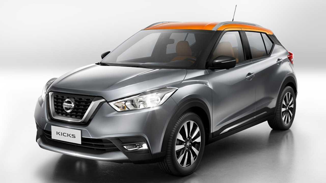 Nissan Kicks estreia na Índia mais robusto e espaçoso que o brasileiro Nissan-kicks-frente-global
