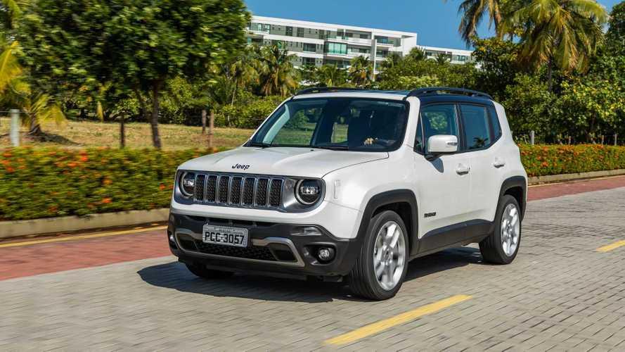 Vendas diretas (PJ) em fevereiro: Jeep Renegade lidera pelo 3º mês seguido