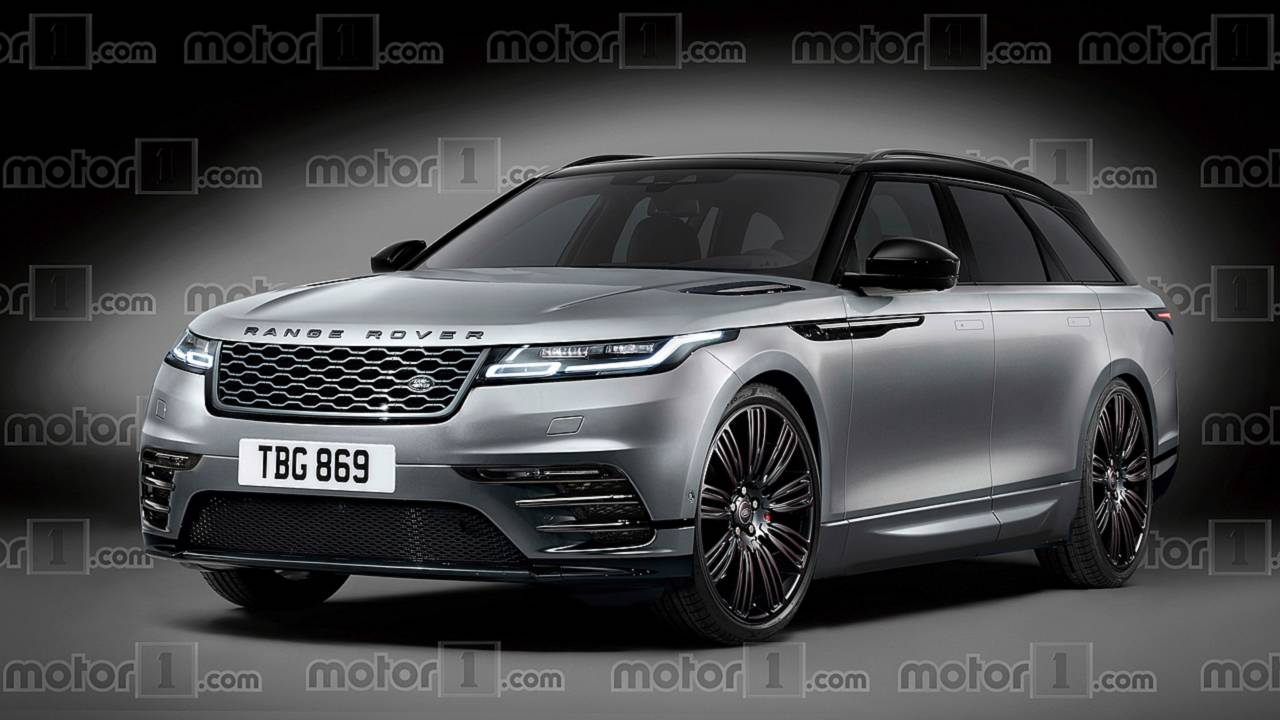 Range Rover Rugged Wagon render