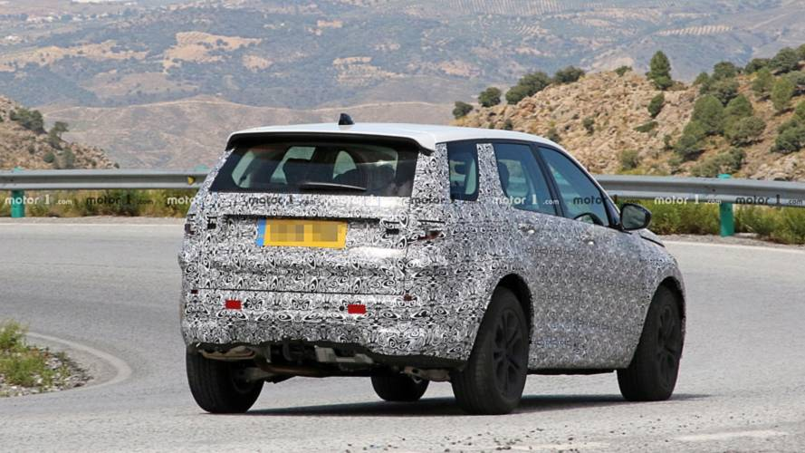 Land Rover Discovery Sport spy photos