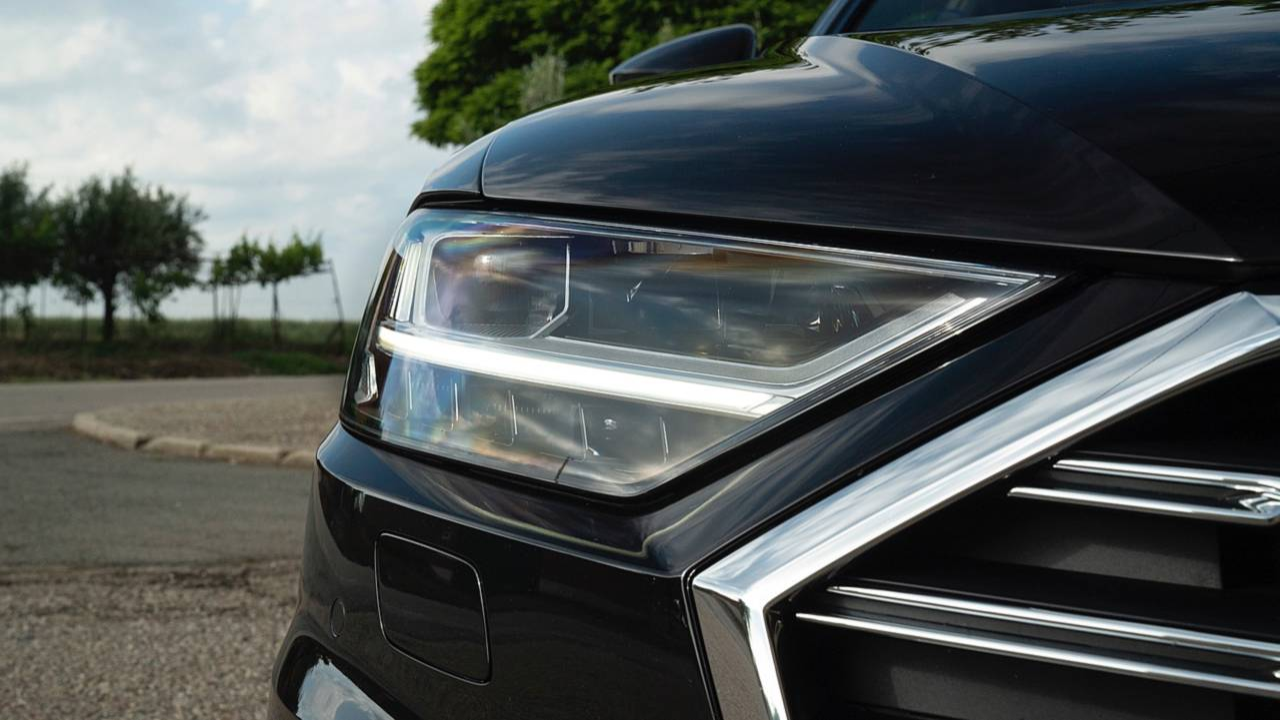 Teaser Audi A8 50 TDI 2018
