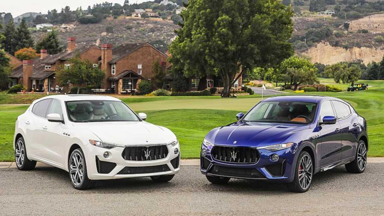 Maserati Levante GTS e Trofeo alla Monterey Car Week 2018