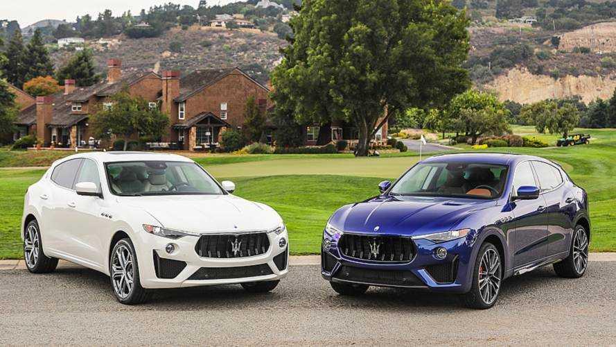 Maserati, alla Monterey Car Week con Levante GTS e Trofeo