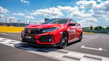 Honda Civic Type R Hungaroring