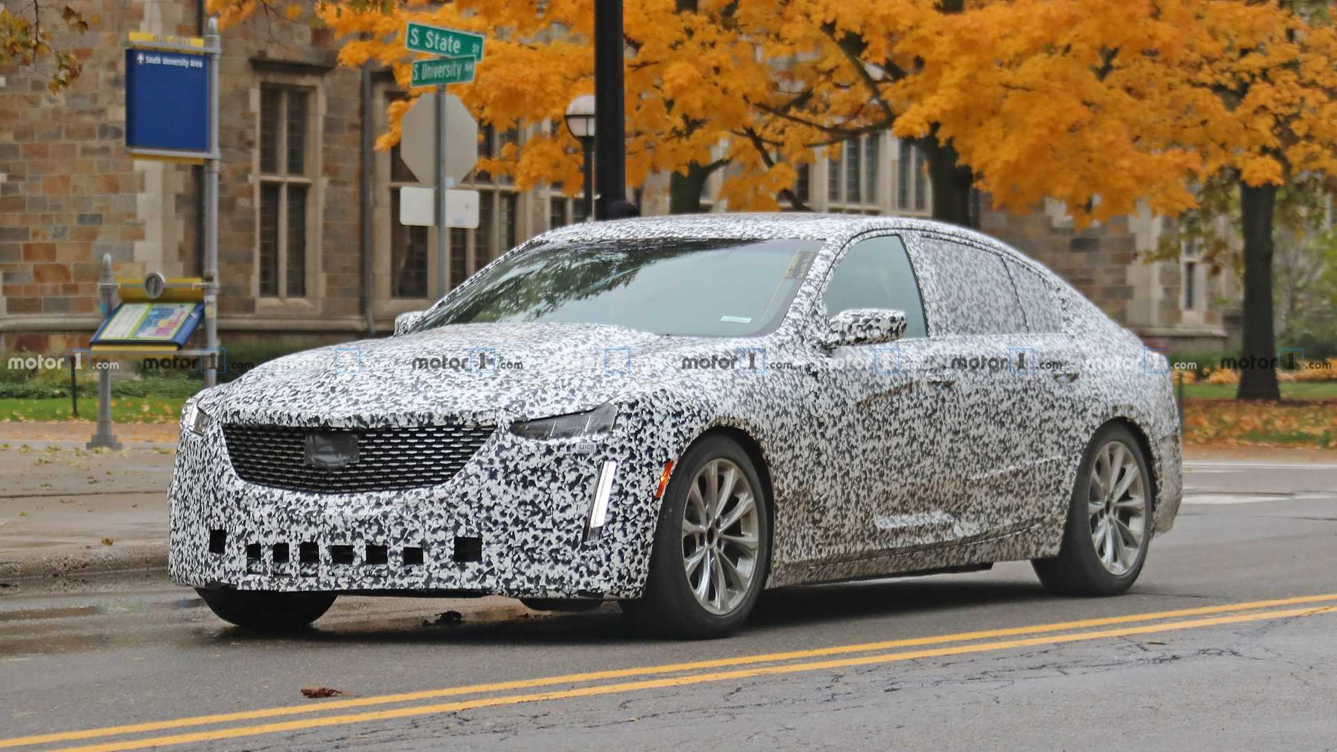 2020 Cadillac Ct5 Spied From All Sides Inside And Out