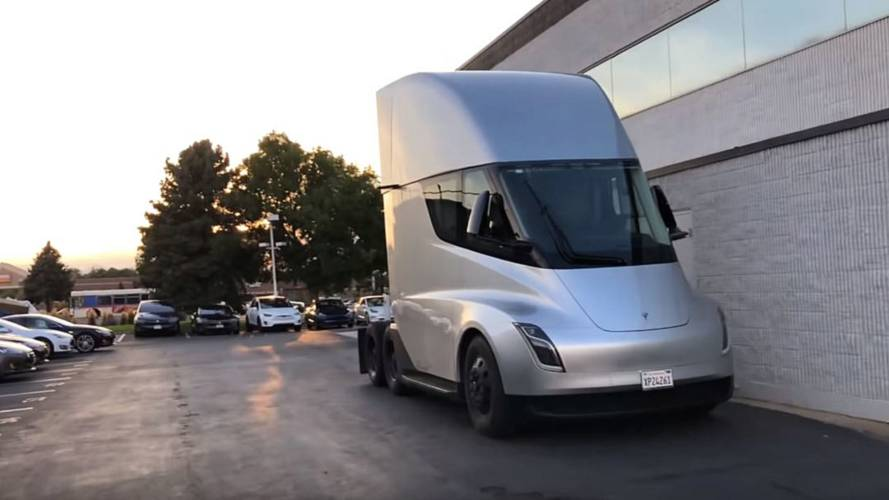 Tesla Semi Spied Inside & Out: Plus See Its Motors