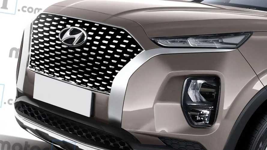 Рендеры Hyundai Palisade