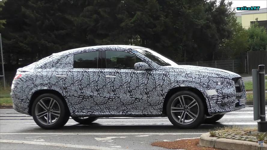 Next-Gen Mercedes-Benz GLE Coupe, S-Class Spied On Soggy Streets