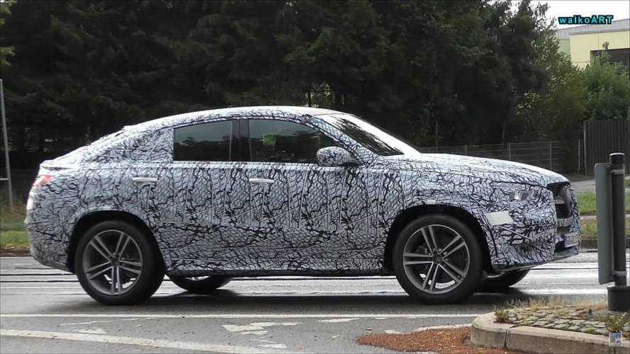 Yeni jenerasyon Mercedes GLE Coupe ile S-Serisi görüntülendi