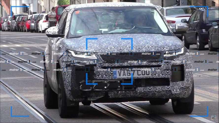 Nuova Range Rover Evoque, avvistamenti in attesa del debutto