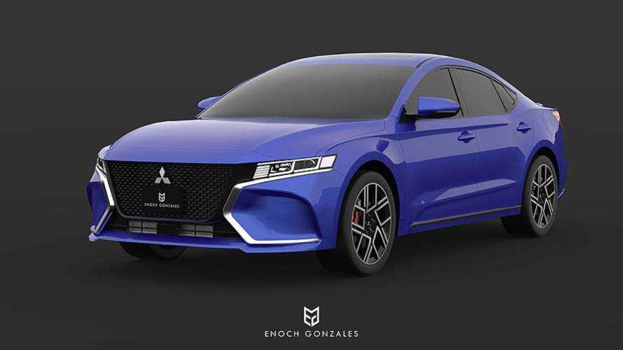 2020 Mitsubishi Galant Renering | Motor1.com Photos