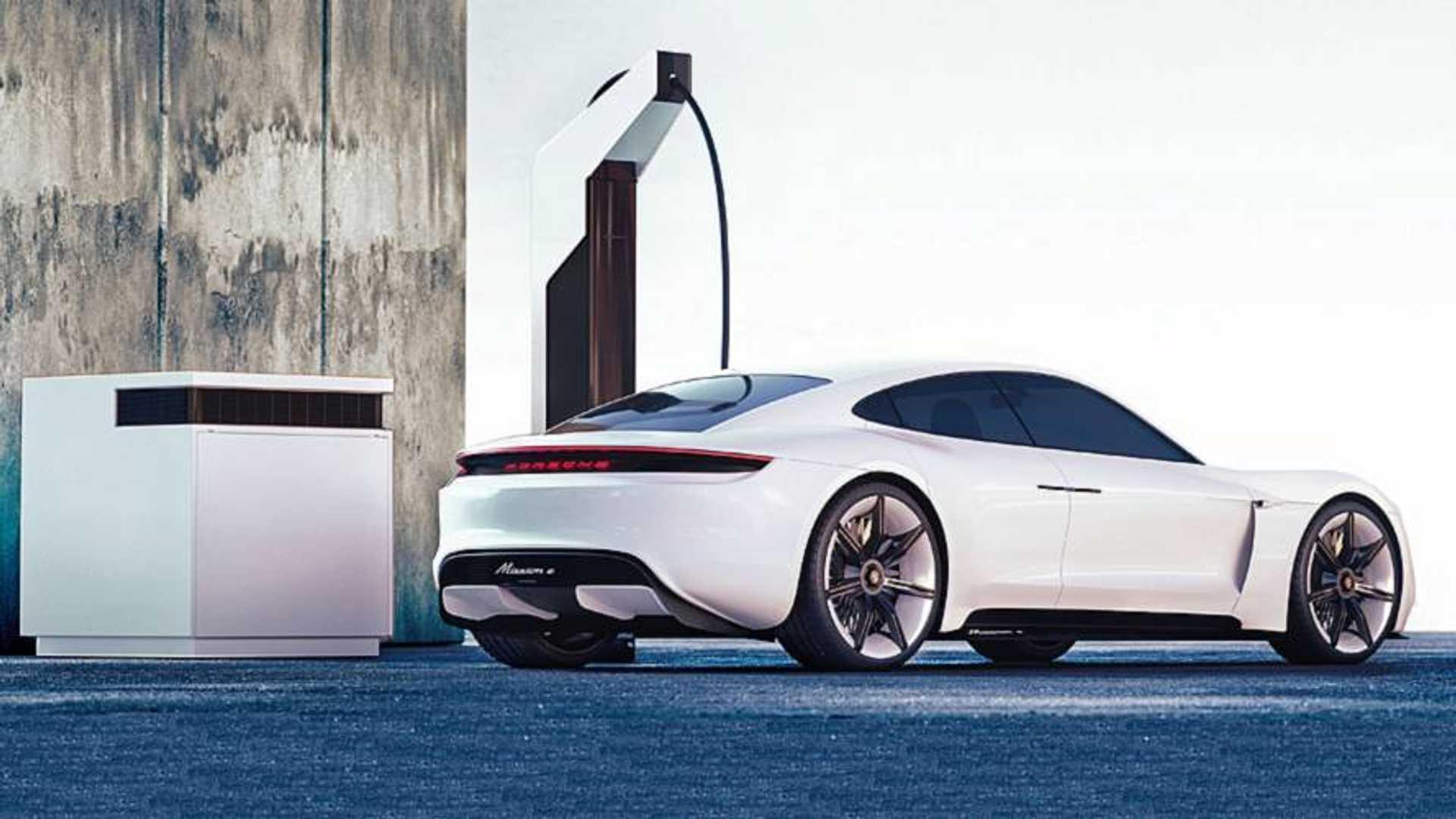 Porsche creates fast-charging 'pit-stop' parking bays