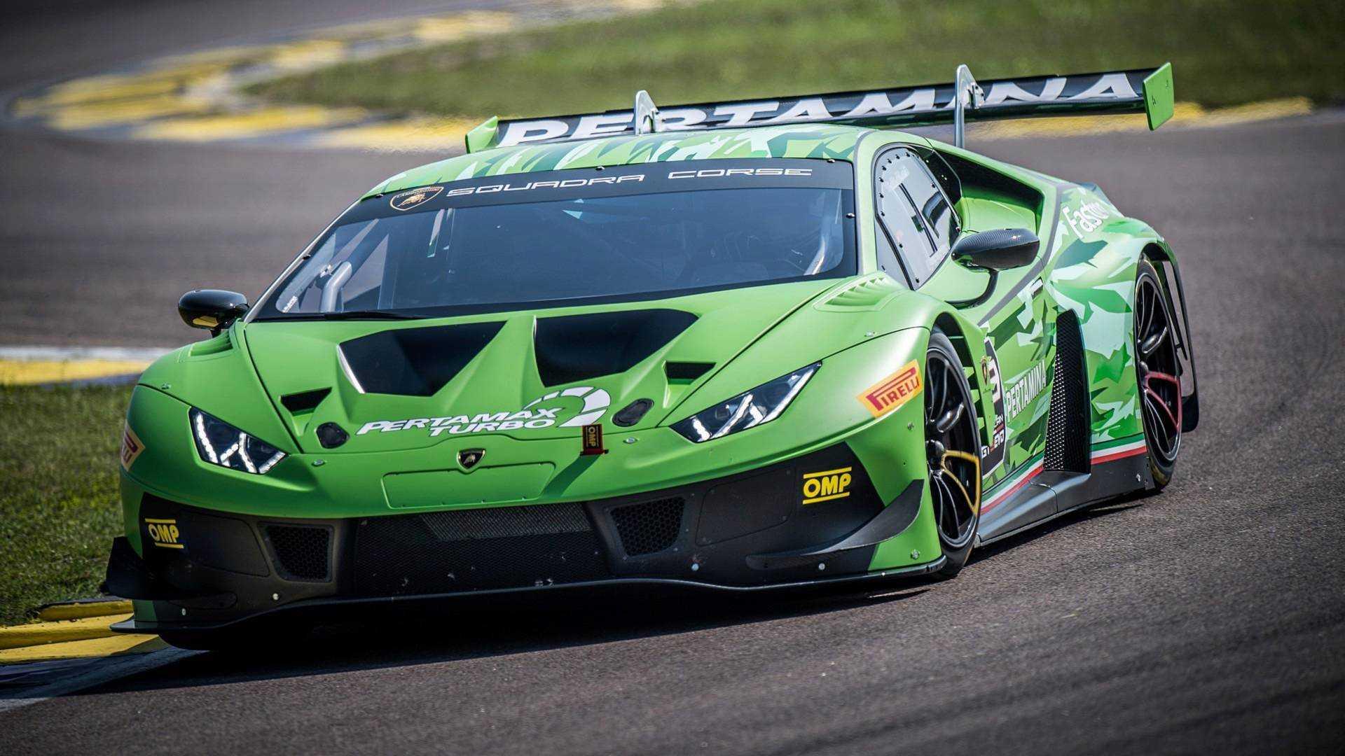 Lamborghini Huracan GT3 Evo Unveiled With Updated Aerodynamics