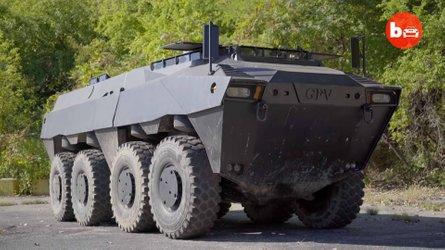 GPV Colonel 8x8: una tanqueta anfibia para superar el apocalipsis
